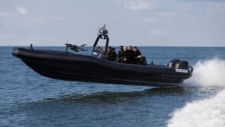 סירות פטרול ופשיטה מתנפחות לשימוש צבאי